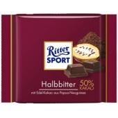 Ritter Sport Halbbitter Czeko.100g