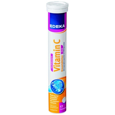 Edeka Vitamin C + Zink 17szt 102g/12