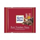 Ritter Sport Rum Trauben Czeko 100g