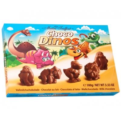 Maitre Choco Dinos 100g/22