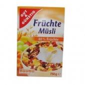 G&G Fruchte Musli 750g Kartonik/5
