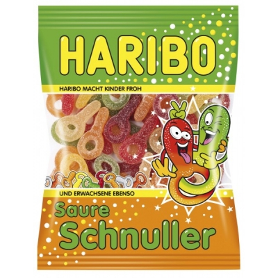 Haribo Saure Schnuller 200g/14