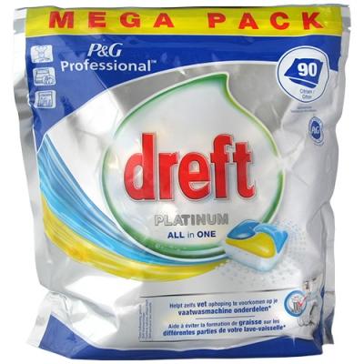 Dreft Platinum Citron Tabs 90szt 1.5kg