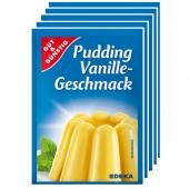 G&G Pudding Vanille Geschmack 5x37g/40