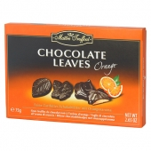 Maitre Chocolate Leaves Orange Bomb 75g/12