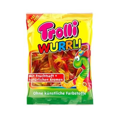 Trolli Wurrli Żelki 200g/18