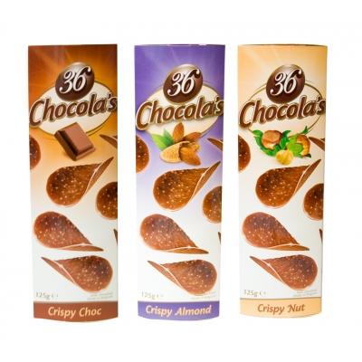 Chocola's chipsy czekoladowe 125g