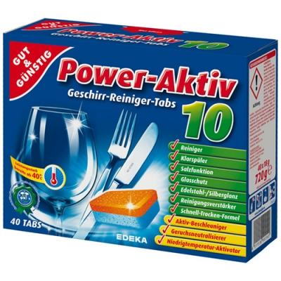G&G Power Aktiv Tabl.do zmyw.40szt/6